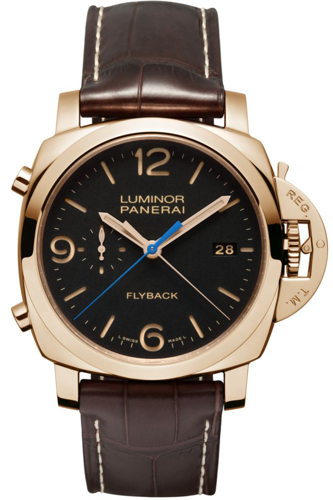 Luminor 1950 3 Days Chrono Flyback Automatic Oro Rosso - 44mm PAM00525 - Collection Luminor 1950 - Officine Panerai Watches