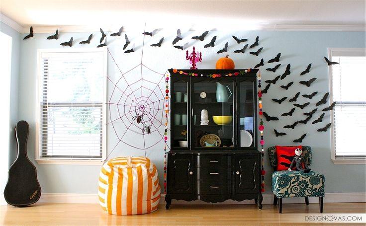 Украшаем дом на Хэллоуин своими руками - 24 бюджетные идеи |  #праздник #хэллоуин Интересно