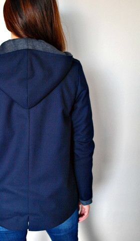 Lind Jacket with Hoodie http://susananakatani.com