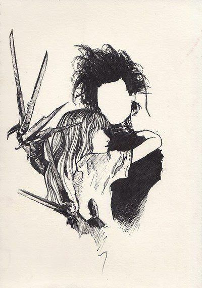 How could one compare and contrast Frankenstein and Edward Scissorhands?