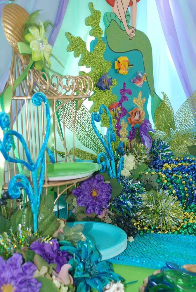 149 best images about the little mermaid baby shower theme for Ariel decoration party