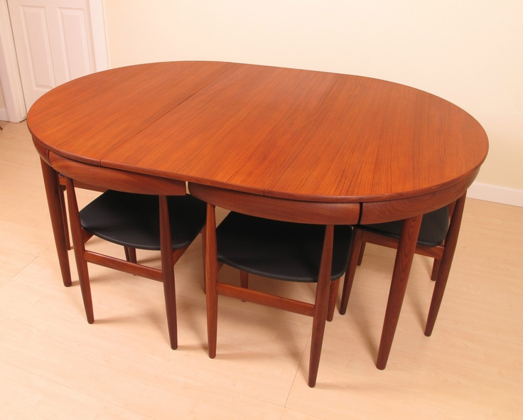 expanded teak table
