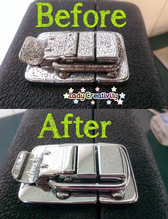 How to remove rust from chrome with coke and aluminium foil - Lady Creativity http://ladycreativity8.blogspot.com.au/2014/07/how-to-remove-rust-from-chrome-with.html