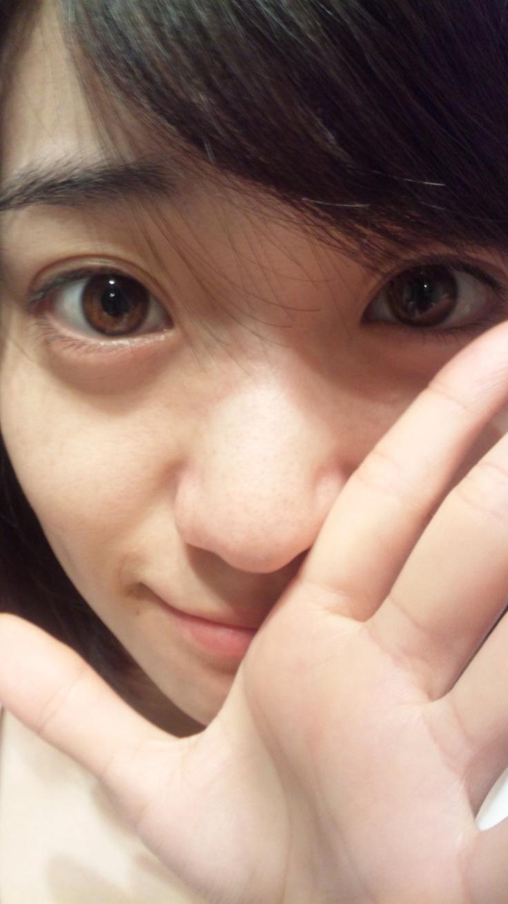 だ〜れだ?すっぴんの優子だよ! #AKB48