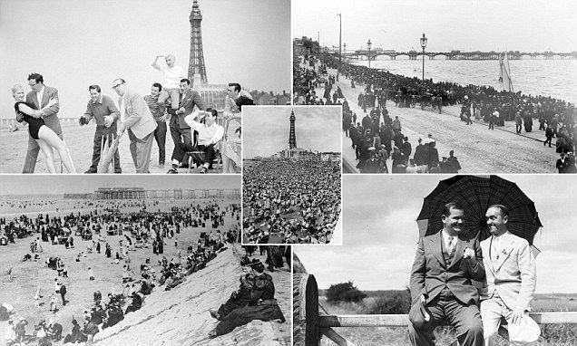 Oh we did like to be beside the seaside! The pictures which show the heyday of Blackpool as THE British holiday resort