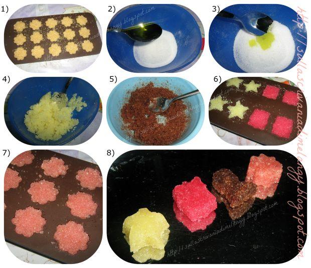 Zollette di zucchero aromatizzate: regalo home made!   Sulla scrivania di Melangy