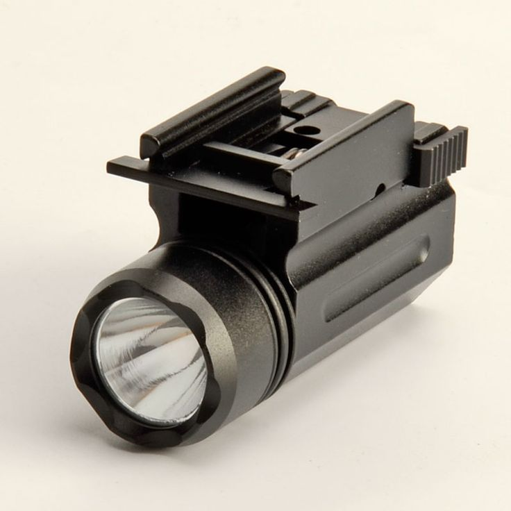 Quick Release Tactical Led Strobe Flashlight Cree for Glock 17 19 20 21 22 23 20mm Weaver or Picatinny Rail Glock Accessories