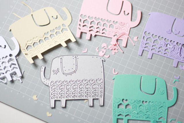 Crafting ideas from Sizzix UK: Elephant Parade - Part 1/2