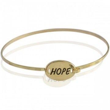 Armband Hope goud