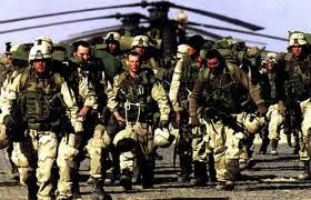 US Army Rangers.  Ménage going hard core! LOL