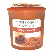 Yankee Candle Votive Simply Cinnamon - Groceries - Tesco Groceries   £1.20 fd