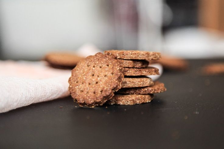 Super Easy Rye Crackers | Berries and Spice