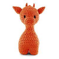 Kit Hoooked Maxigurumi Girafe Orange