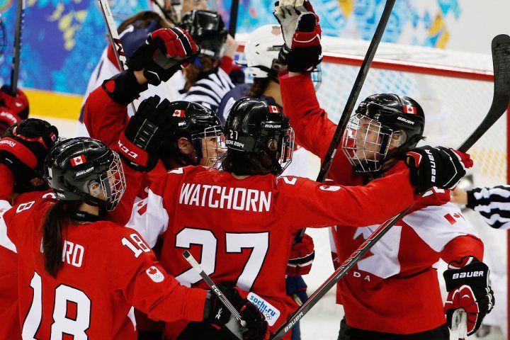 Canada 3 USA 2 GO CANADA GO!