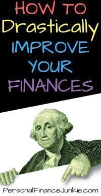 Learn the one and only way to drastically improve your personal finances. Budgeting and earning more money. Read these personal finance tips. #personalfinancetips #personalfinancelessons #budgetadvice
