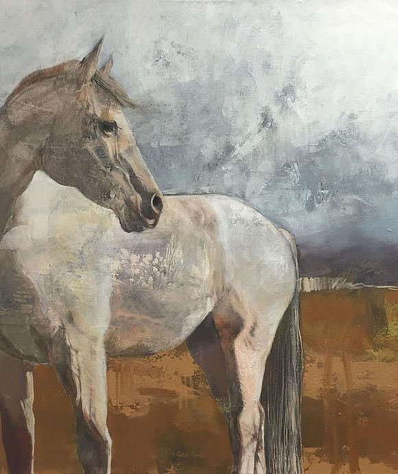 Karen Roehl Fine Art Paintings | HORSES