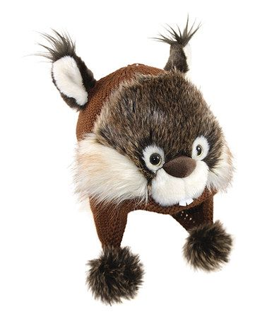 Another great find on #zulily! Brown Squirrel Trapper Hat #zulilyfinds...Cute!