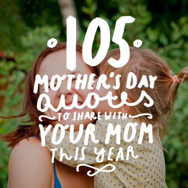This is an awesome list of Mother's Day quotes! Whether you are a mom, child or spouse, you should read this. Love it!