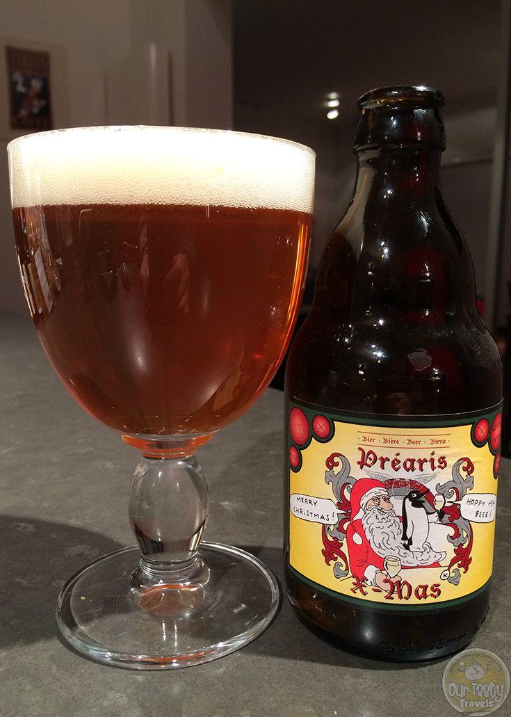 19-Jan-2015 : Préaris X-mas by Vliegende Paard Brouwers.  A very hoppy Belgian Blonde ale with a heavy citrus aftertaste. #ottbeerdiary