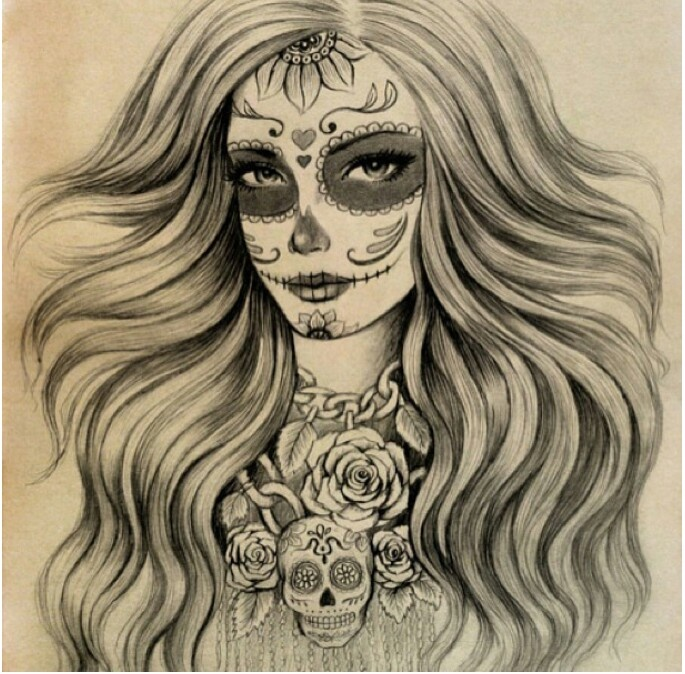 1000 Images About Sugar Skull On Pinterest