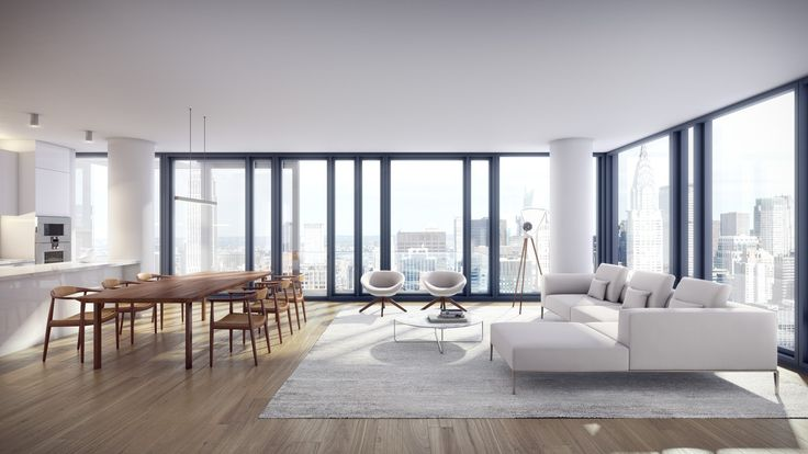 Gallery of Richard Meier & Partners Unveils Milestone Black-Glass Residential Tower for New York City - 6