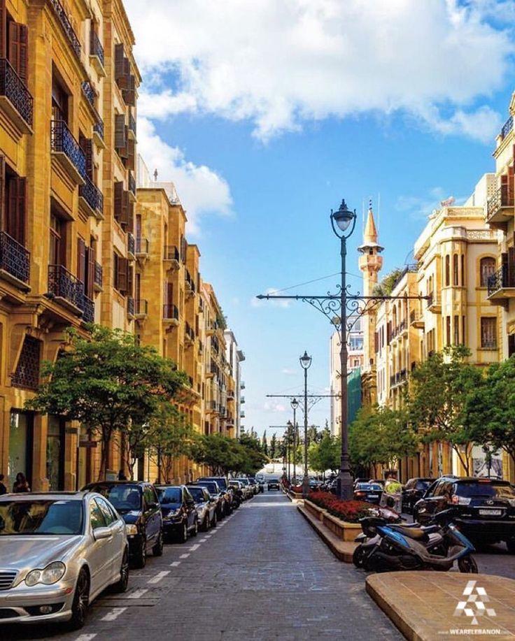 #Beirut, Simply a piece of art! By @tonifreiha #WeAreLebanon  #Lebanon