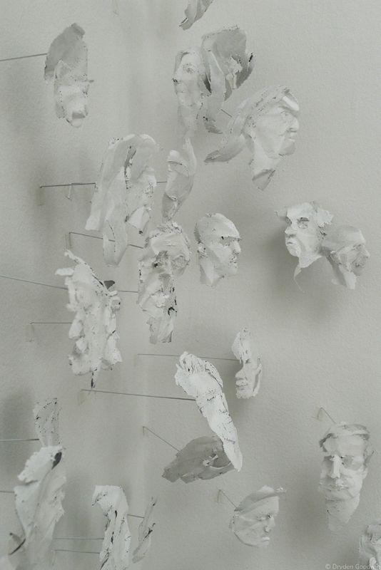 dryden goodwin paper portraits