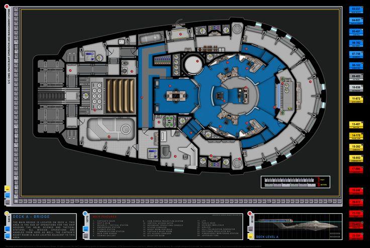 Enterprise Nx 01 Main Bridge Space Ships Pinterest