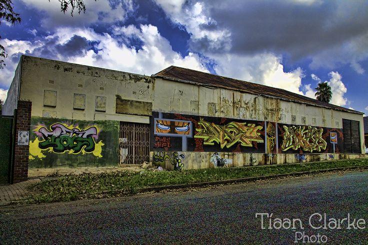 Bit of graffiti near Northcliff, Johannesburg
