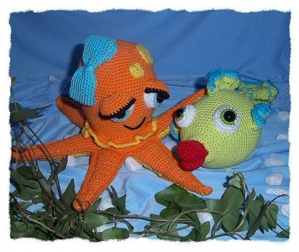 Knitted Amigurumi Sea Creatures : 1000+ images about Amigurumi - sea creatures on Pinterest ...