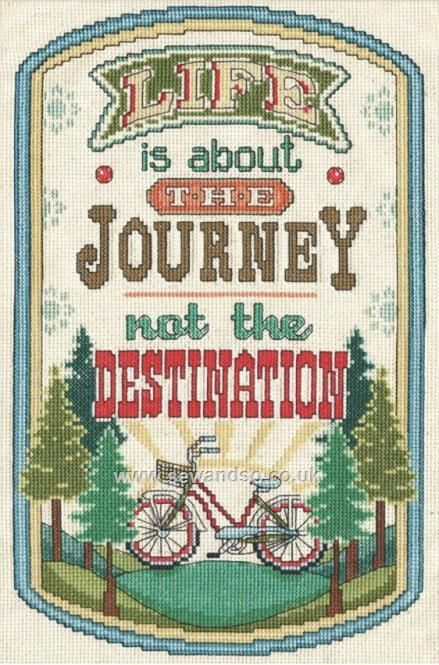 Buy The Journey Cross Stitch Kit Online at www.sewandso.co.uk