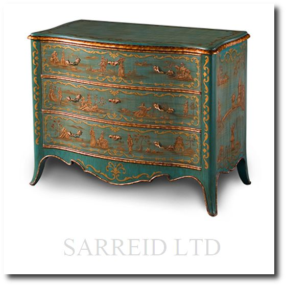 71 best images about hand painting on pinterest for Hand painted chests