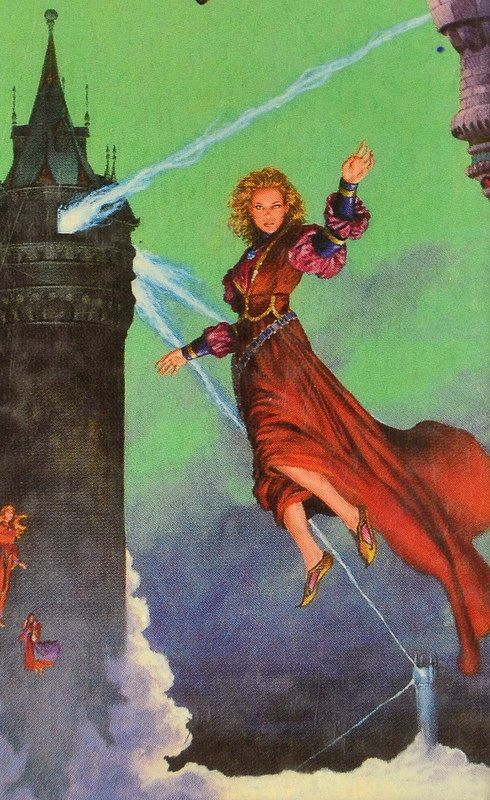 Towers of Darkover, Cover Art Detail