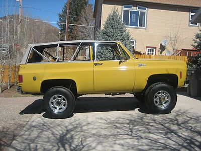 1974 K5 Blazer with Soft Top photo 2   K5 Blazer ...