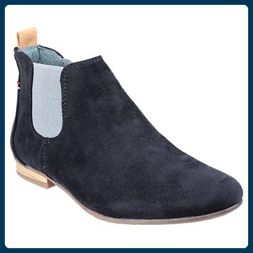Divaz Damen Pisa Ankle-Boots (38 EU) (Marineblau) Hi5tA6B