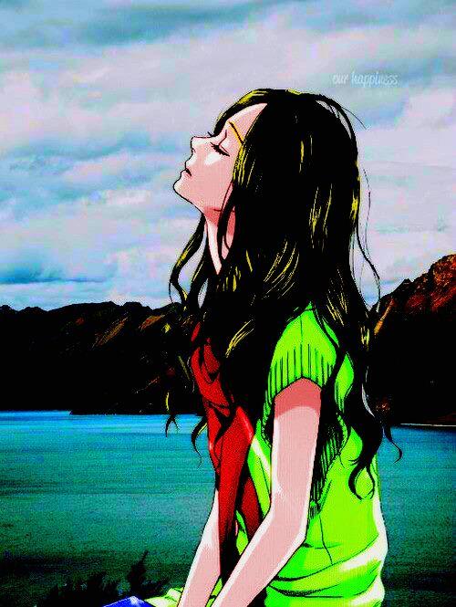 Ita: Se la prendi, mettere i crediti.. grazie. Eng: If you take it, put the credits.. thanks.  #animegirl #Coloredbyme #ToukoWhiteGraphic