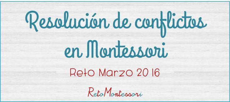 Resolución de conflictos Montessori
