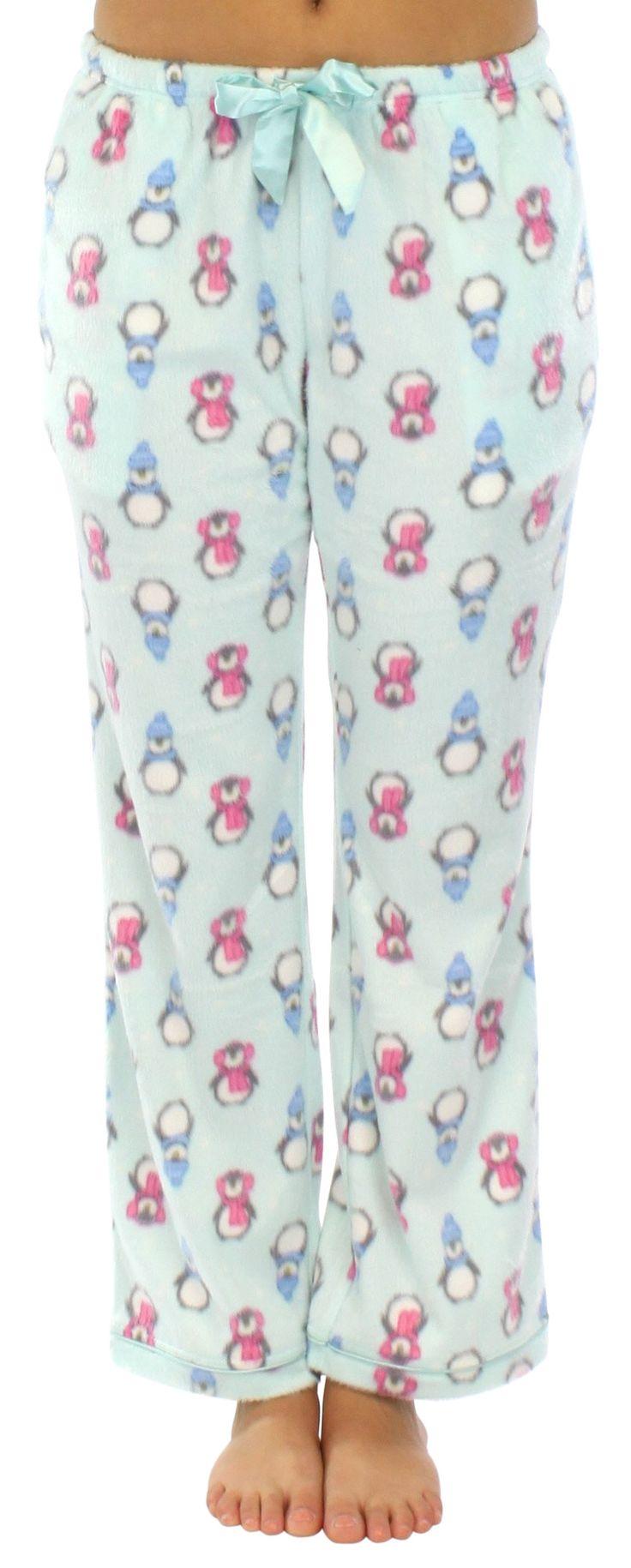 Frankie & Johnny Women's Fleece Pajama Pant