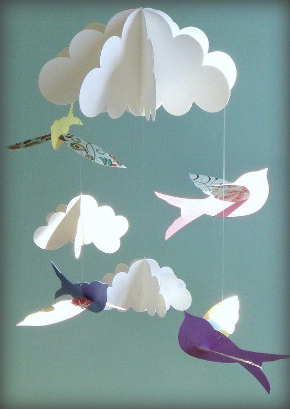 bird n' cloud mobile