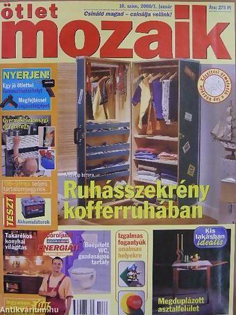 Könyv ára: 1820 Ft. Ötlet Mozaik 1998-2000. (vegyes számok) (15 db) - Papp Márió: