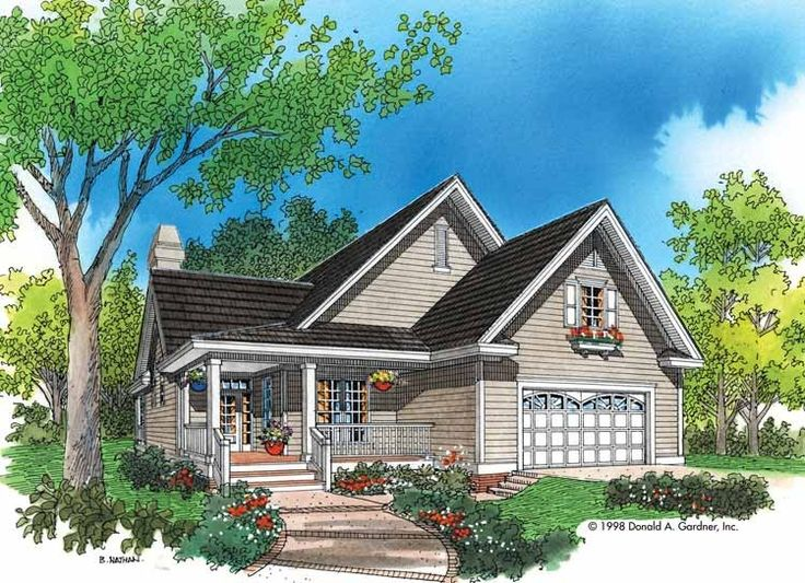 Eplans Cottage House Plan   Modest Spaciousness   Square Feet    Eplans Cottage House Plan   Modest Spaciousness   Square Feet and Bedrooms from Eplans