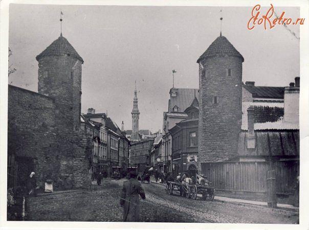 Вируские ворота 1888 г. - 2013 г. - Прибалтика>Эстония>Таллин - ЭтоРетро.ru - старые фото городов