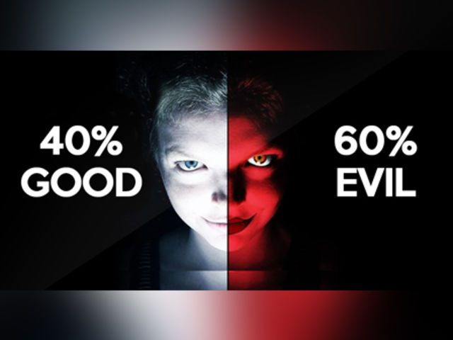 I got: You are 60% evil! How Evil Are You? what what what I am a full blown demon.