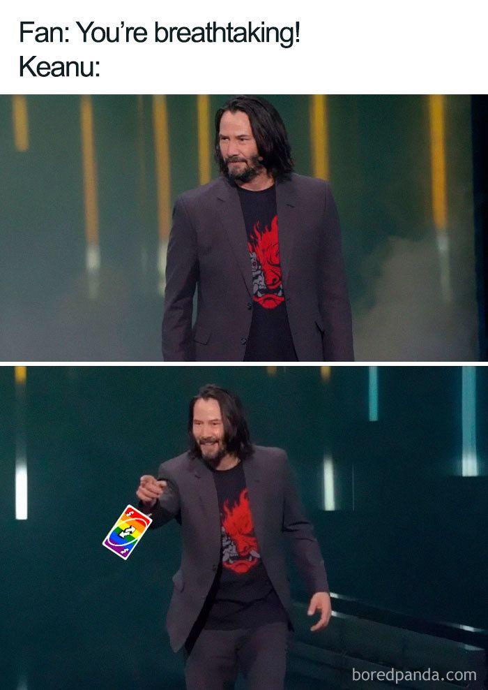 Funny Keanu Reeves Memes Keanu Reeves Keanu Reeves Meme Blonde Jokes