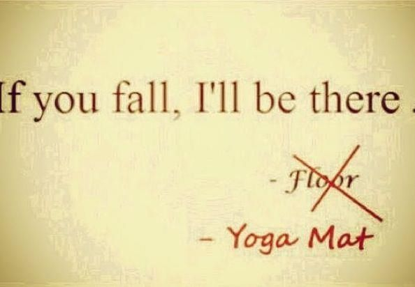 Hahaha yoga humor. You got mat right! haha