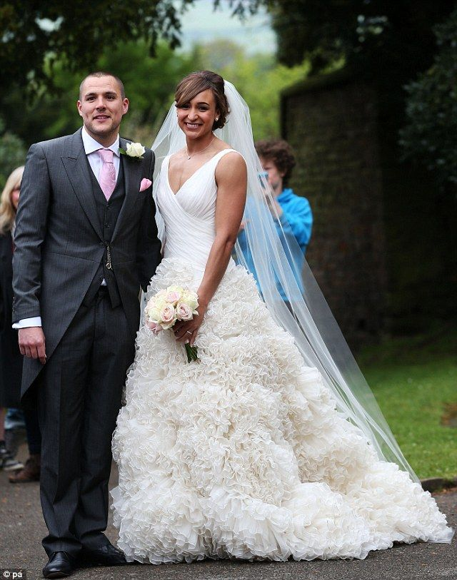 We do! Jessica Ennis and her husband Andy looked radiant on their wedding day