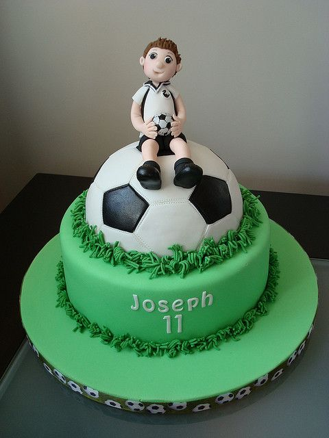 soccer cakes | Joseph's Soccer Cake | Flickr - Photo Sharing!