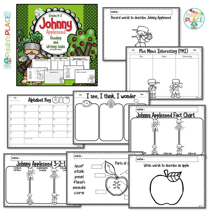 30 besten Johnny Appleseed Bilder auf Pinterest | Johnny appleseed ...