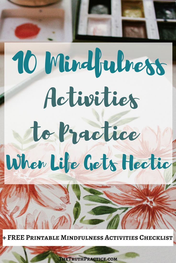 CLICK THE PIN to read all 10 mindfulness activities, mindfulness exercise, and mindfulness meditations that you can use to still your thoughts, find peace in the present moment, and practice acceptance and surrender in moments of stress. Get your mindfulness journal and techniques in this post. Go to TheTruthPractice.com to read about inspiration, authenticity, happy living, manifestation, getting rid of fear, intuition, self-love, self-care, words of wisdom, relationships, & affirmations.