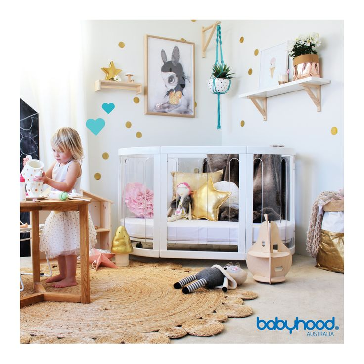 Every baby deserves to wake up to the world free as a bird. The Kaylula Sova Cot does just that. The clear panels allow your Bub to see out into the world when they wake up. This cot is so unique and stylish, the perfect statement piece in any nursery. Visit us at the #Melbourne #PBCExpo this weekend for a special promo price you don't want to miss! August 19-21.